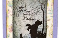Felicitare Follow your dreams