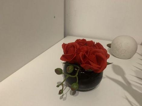 Bol cu trandafiri