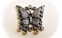 pandantiv fluture bronz 30 mm
