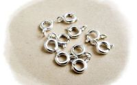 inchizatoare argintie rotunda