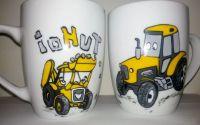 Cana tractor vesel si escavator