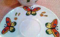 Set cafea fluturi