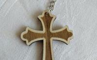breloc din lemn pentru chei