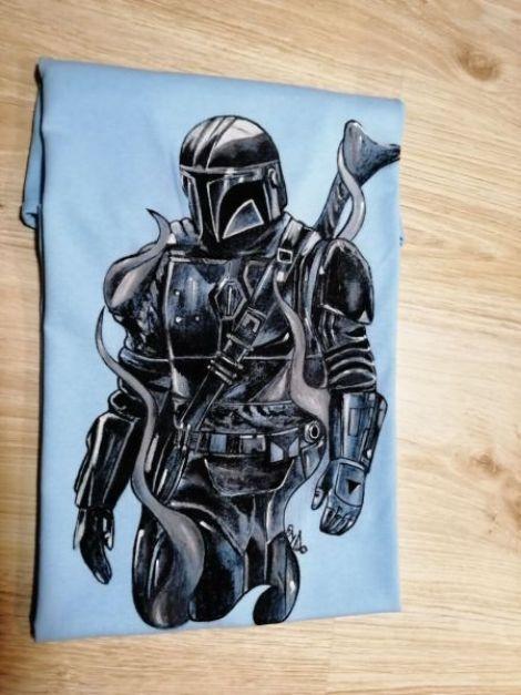 Tricou Mandalorian Star Wars
