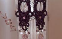 Set violet bijuterii