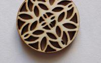 baza din lemn pentru pandantiv