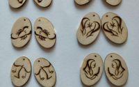 baze din lemn pentru cercei