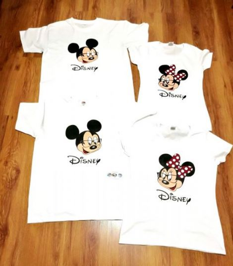 Tricou Minnie si Mickey Mouse
