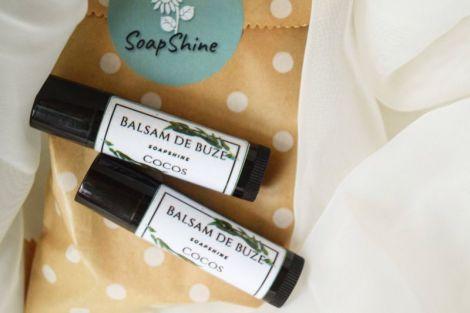 Balsam natural de buze cocos