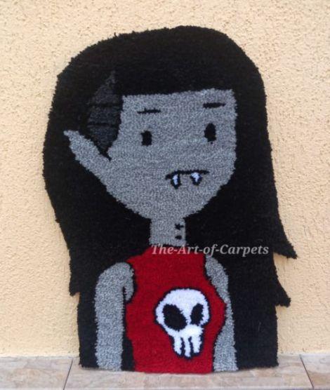 Covoras decorativ Marceline Regina Vampirilor