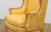 Fotoliu baroc din lemn masiv auriu
