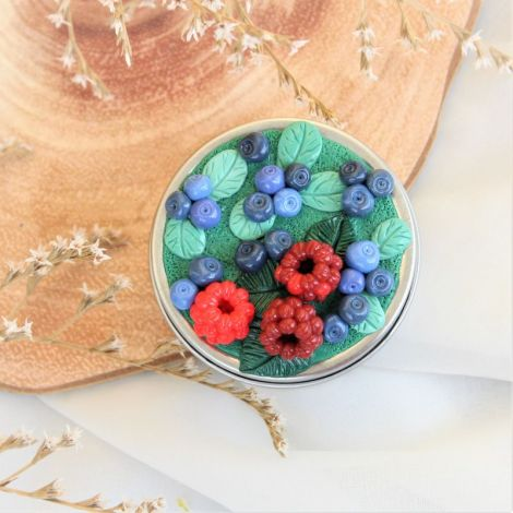 Fructe de padure - cutiuta bijuterii