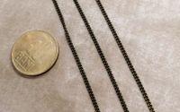 1m Lant bronz rasucit fin zale 1.5mmx2mm