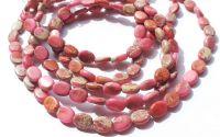 Regalit Jasp imperial roz oval 8 x 6 x 3 mm