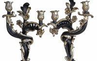 Set doua sfesnice din rasini stil venetian