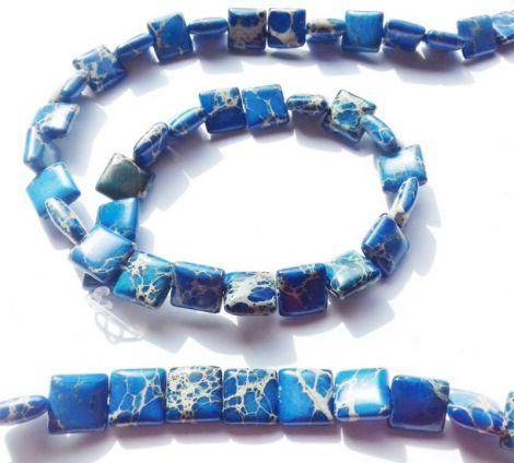 Regalit Jasp imperial patrat albastru 10 x 4 mm