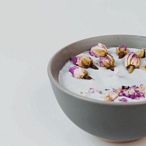 Lumanare - Ofranda florala