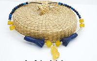 Colier agate pandantiv jad 03