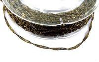 Lant bronz filigranat zale 2.5x1.7mm