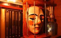 Pierrot masca teatrala artizanala