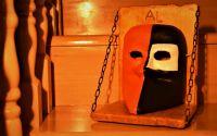 Bauta - Masca Carnaval Venetia lucrata manual