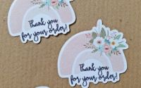 Etichete autocolante Thank you for your order!