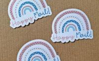 Stickere Happy Mail