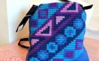 geanta colorata unicat poseta