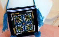 geanta poseta colorata cu broderie unicat