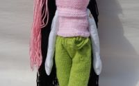Papusa handmade BabyBlack by Art Republic