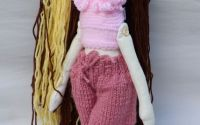 Papusa handmade BabyBrownish by Art Republic