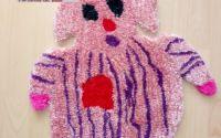 Carpeta decorativa Purcelus de plus personalizat