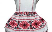 Rochie fete traditional bumbac Oltenia 3-4ani
