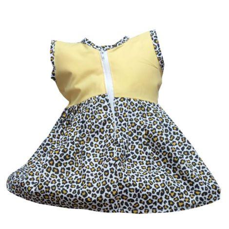 Rochie fete leopard 0-12luni