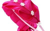 Cordeluta roz imbracata in satin