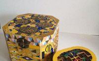 Cutii pictate Klimt