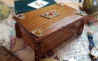 Cutie muzicala lemn