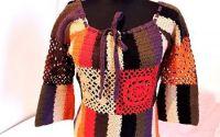 bluza colorata crosetata manual