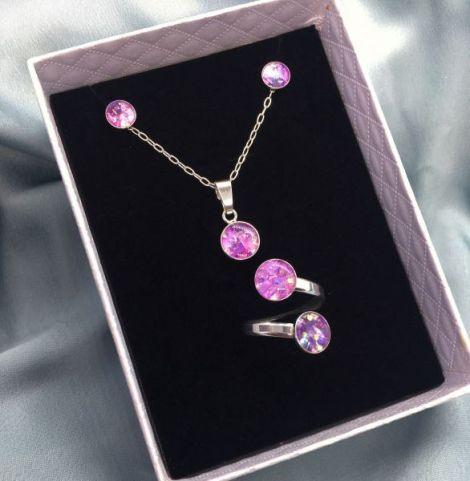 Set de bijuterii - Pink peonies