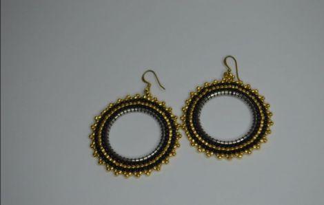 Cercei hoops - gold