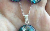 Set de bijuterii - Shiny blue