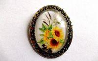 brose sticla cu floarea soarelui