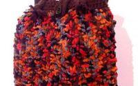 geanta poseta  maro tricotata manual marime mare