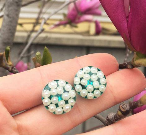 Cercei din argint - Magical Pearls