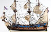 Macheta din lemn a navei GOTO