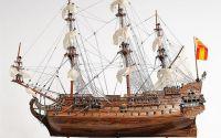 Macheta din lemn a navei SAN FELIPE