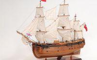 Macheta din lemn a navei ENDEAVOUR