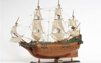 Macheta din lemn a navei BATAVIA