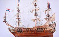 Macheta din lemn a navei ZEVEN