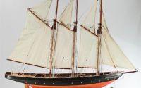 Macheta din lemn a navei ATLANTIC
